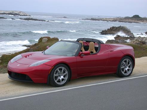 Tesla Rolls Out Website Electric Sports Car AutoConversecom - What's a sports car