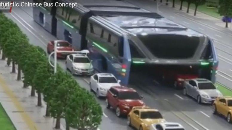Futuristic Chinese Bus Concept