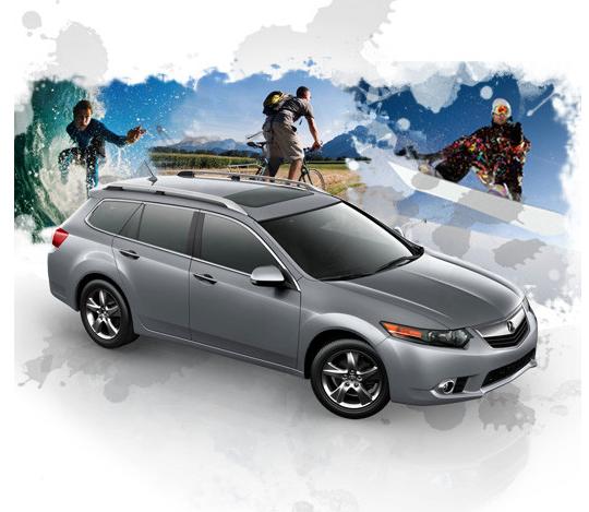 Acura Giving Away A 2011 TSX Sport Wagon On Facebook