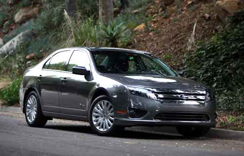 Ford Fusion most researched vehicle 2011