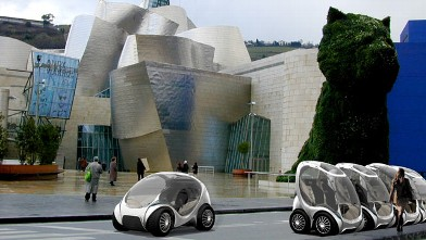 CityCar vehicle of the future gets 200 mpg