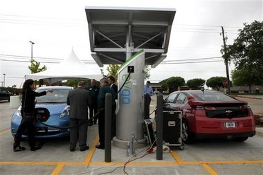 How electric vehicles will be charged