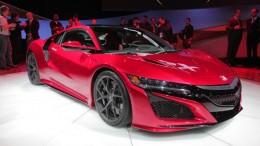 2016 Acura NSX Revealed at NAIAS