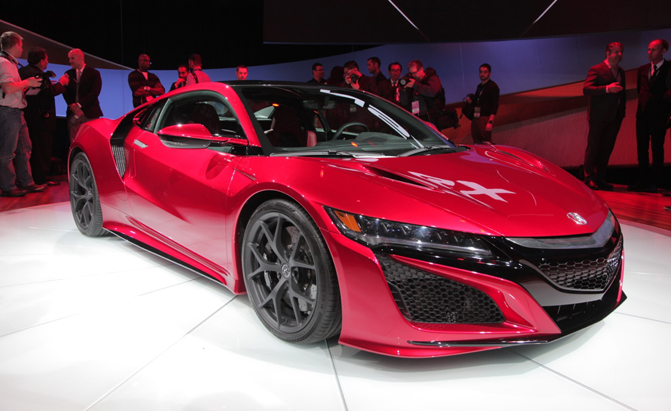 Acura Reveals Next Generation NSX at Detroit Auto Show