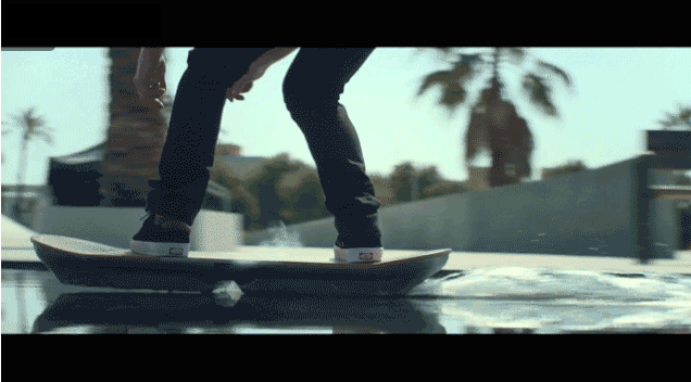 Lexus Hoverboard Brings the Future Back to Skaters