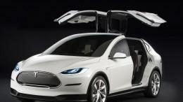 Tesla Model x w/ Falcon Doors