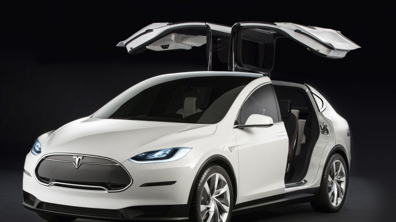 Tesla Model x w/ Falcon Doors