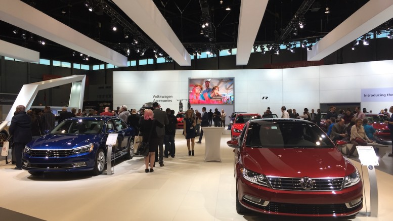 VW Exhibit Chicago Auto Show 2016