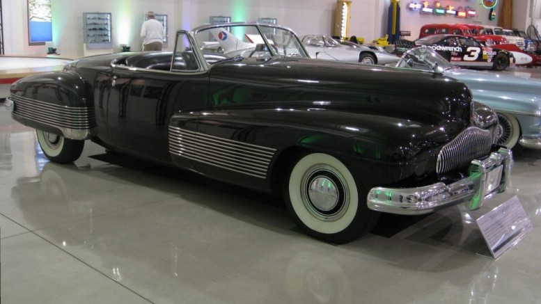 Harley Earl's Buick Y Job of 1937