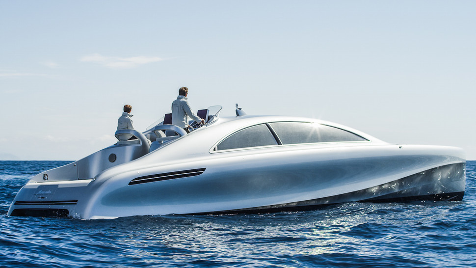 Mercedes-Benz Dives in with a 960 Horsepower Luxury Yacht ...