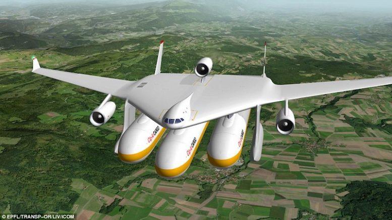 Clip-Air: The POD PLANES that could transform air travel