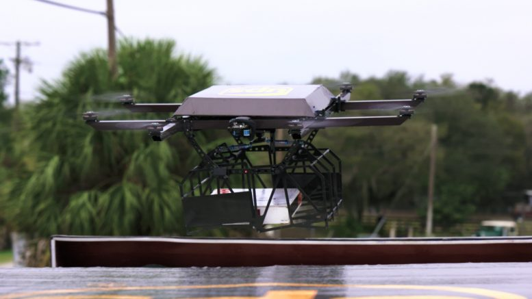 UPS Delivery Drone Tests, DIY Self-Driving Kits, Google