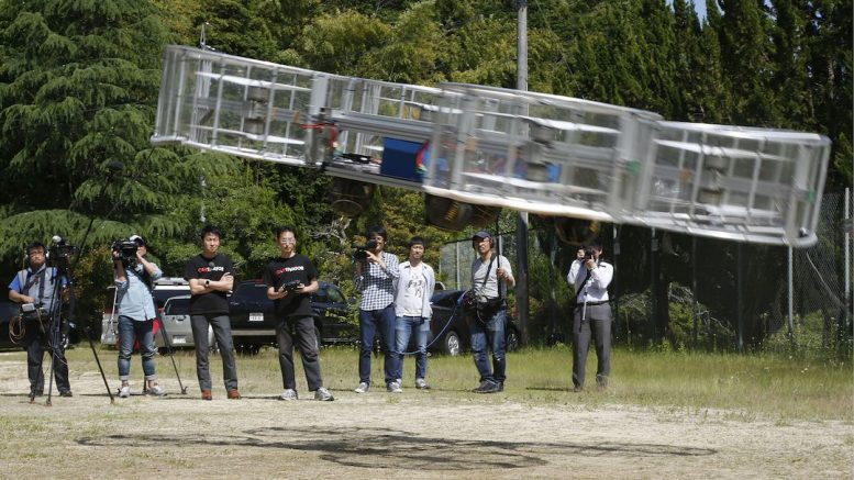 Toyota flying car project