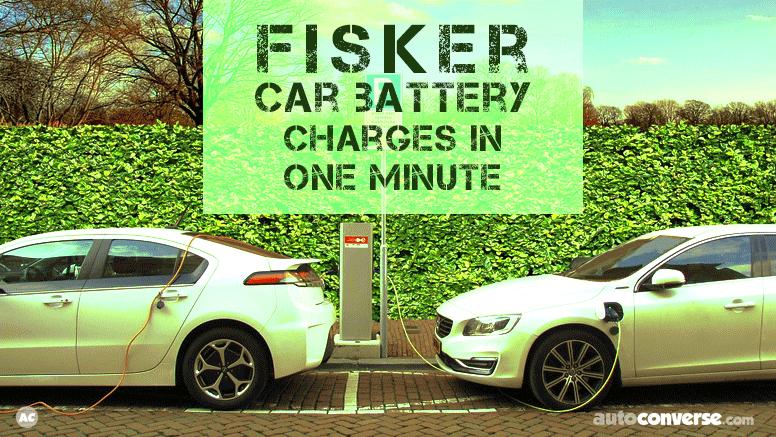 new fisker car battery