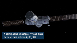 Luxury Hotel in Space