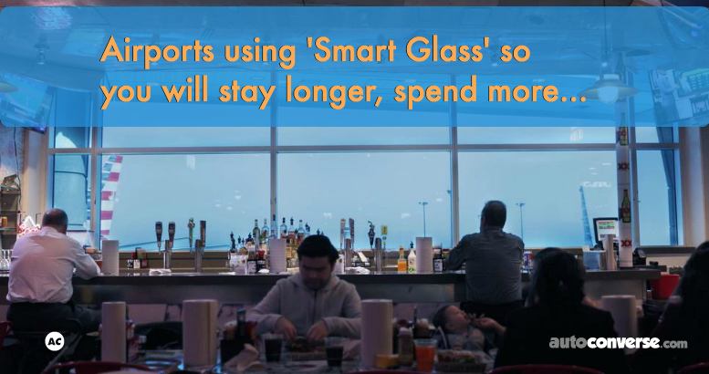 Smart Glass in Airports