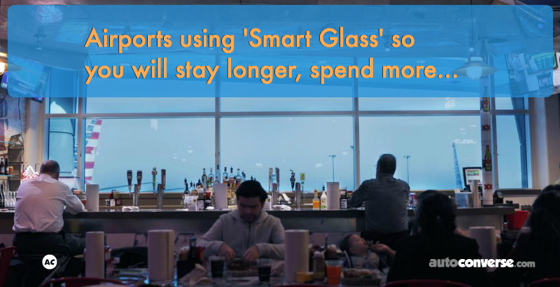 How Smart Glass Can Boost Business in Airports