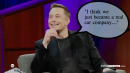 """Elon Musk """"Real Car Company"""""""