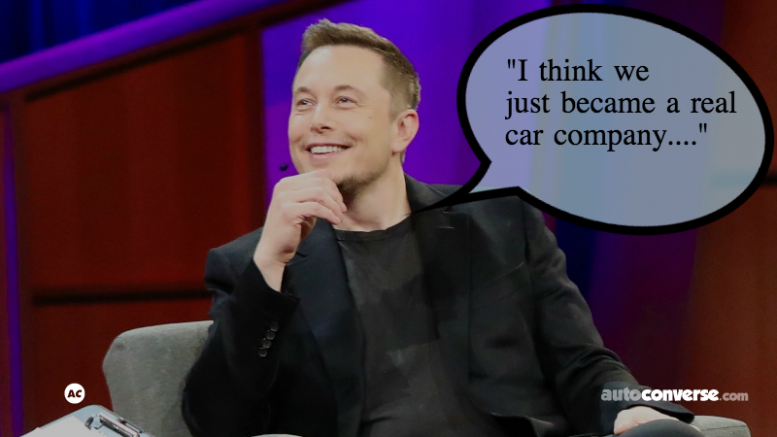 "Elon Musk ""Real Car Company"""