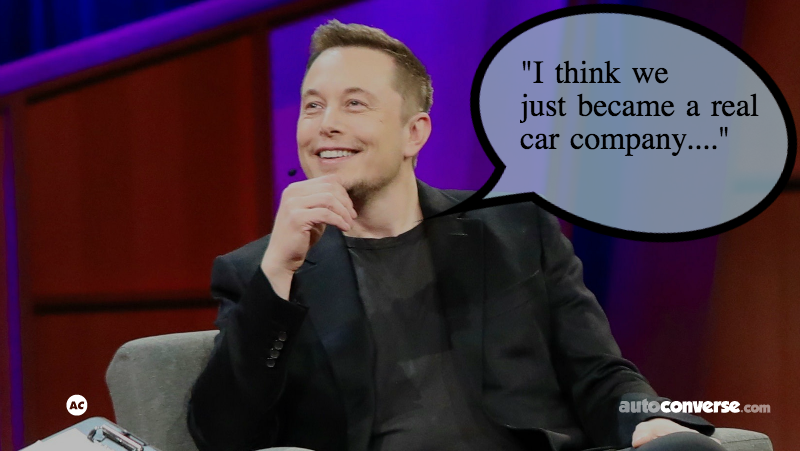 "Tesla Now a ""Real"" Car Company – Rolls Out 7,000 Cars in 7 Days"