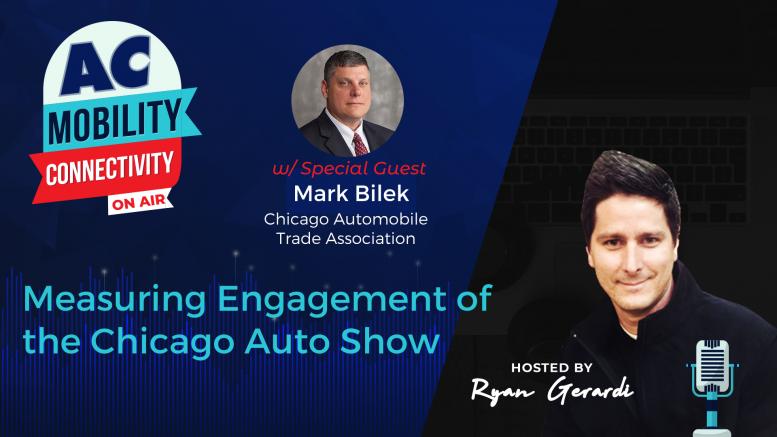 Mark Bilek, Chicago Auto Show