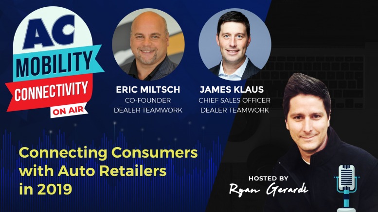 Connecting Consumers with Auto Retailers in 2019