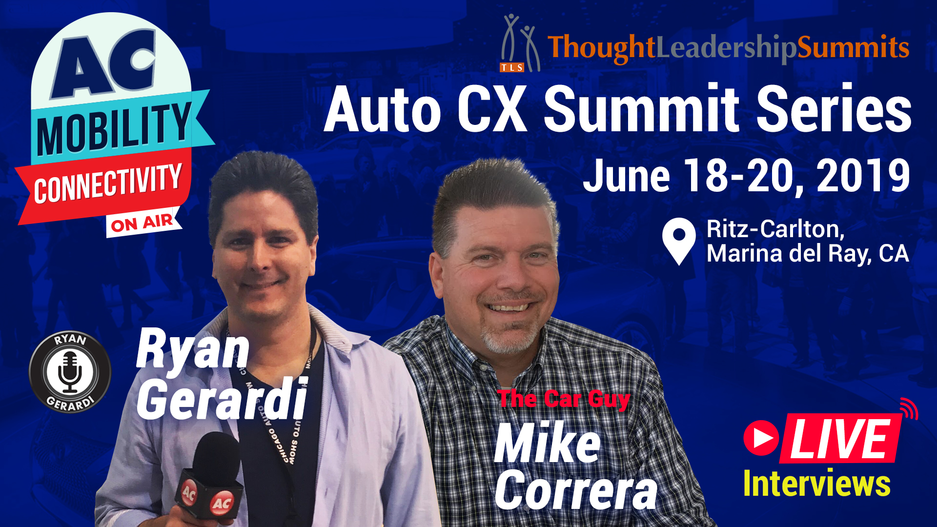 Join Us at the 2019 Automotive CX Summit in Marina del Rey, California – June 18 & 19