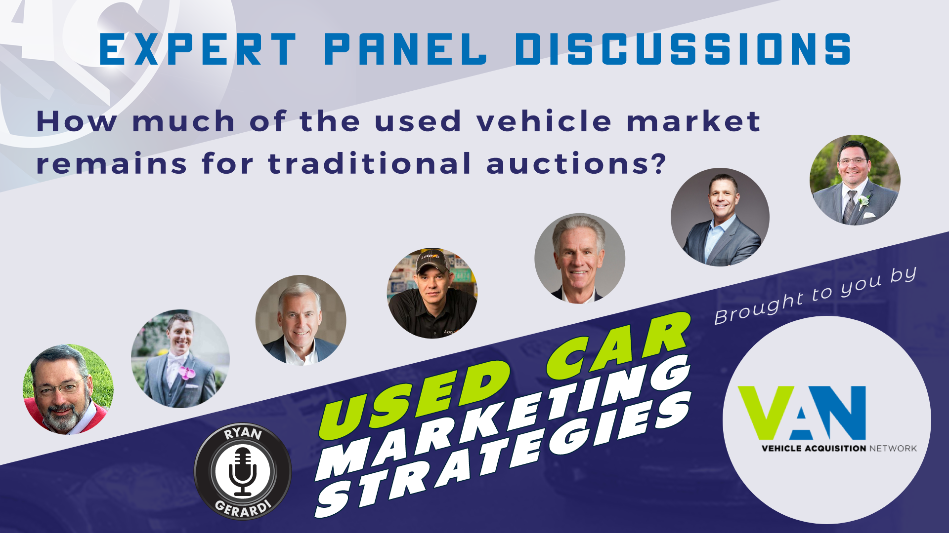 How Much of the Used Vehicle Market Remains for Traditional Auctions? – Expert Panel Discussion