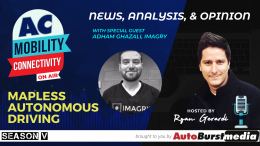 Mapless Autonomous Driving Conversation with Adham Ghazali from Imagry