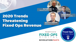 2020 Trends Threatening Fixed Ops Revenue