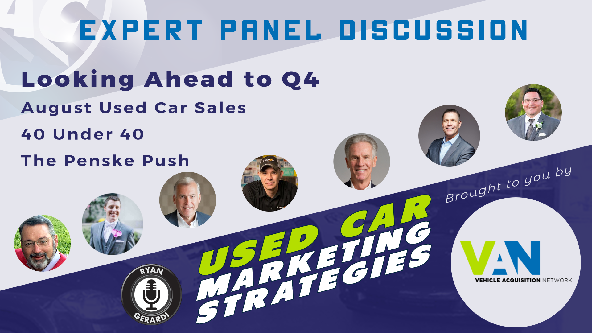 Looking Ahead in Used Cars for Q4 2019 – Expert Panel Discussion