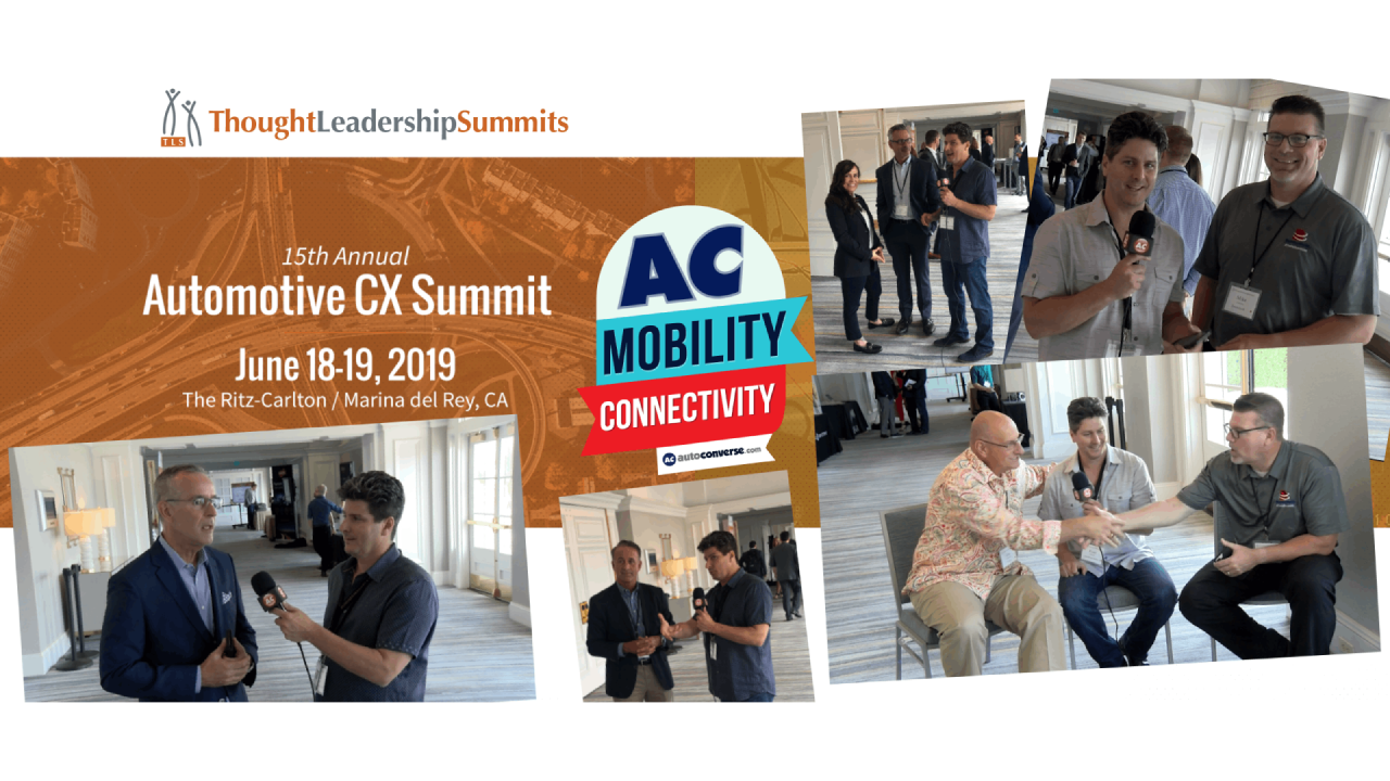 2019 Automotive CX Summit Rewind from the Ritz-Carlton in Marina del Rey, California [VIDEO]