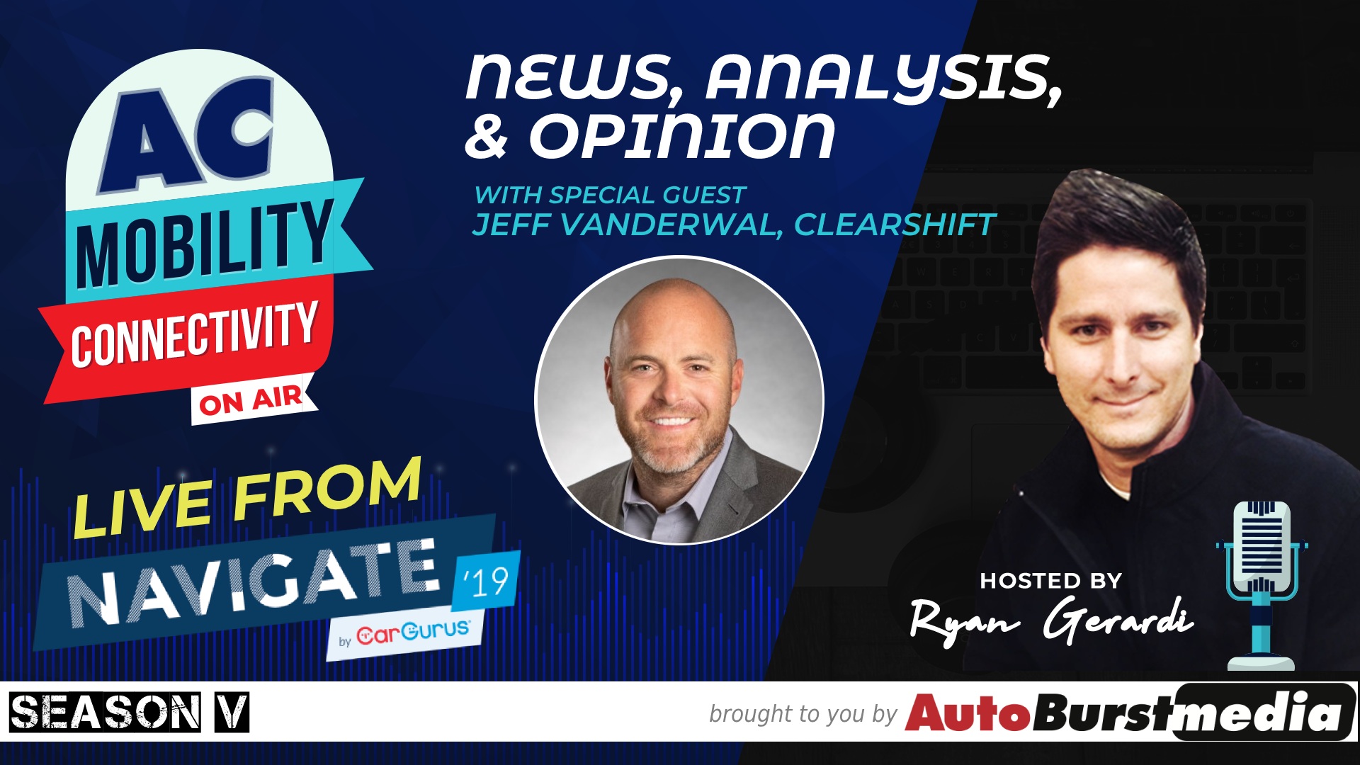 WED OCT 23 🎙 Not Your Dad's Car Lot 💬 Conversation with Jeff VanderWal of ClearShift