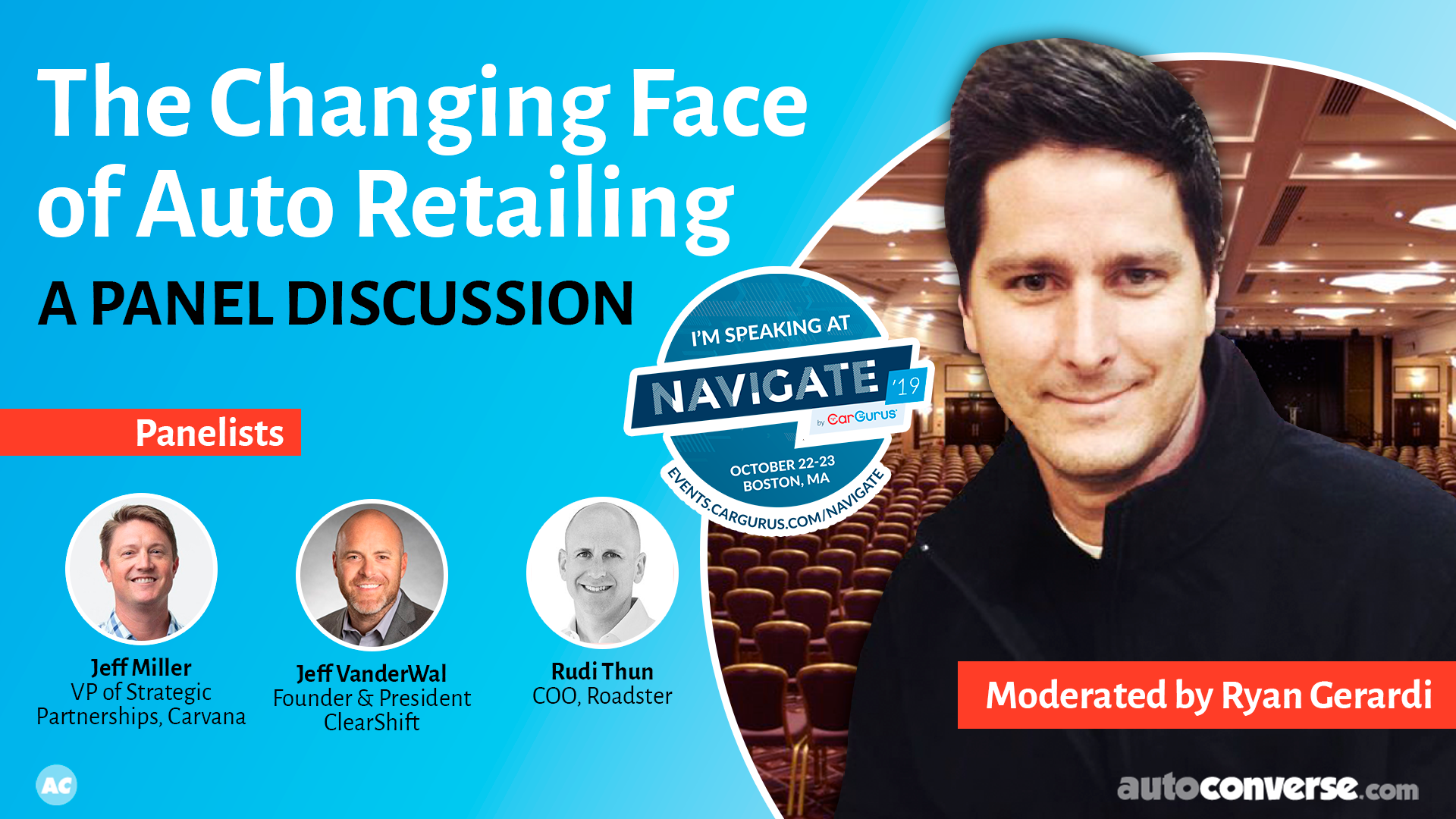 The Changing Face of Auto Retailing – Ask the Panelists