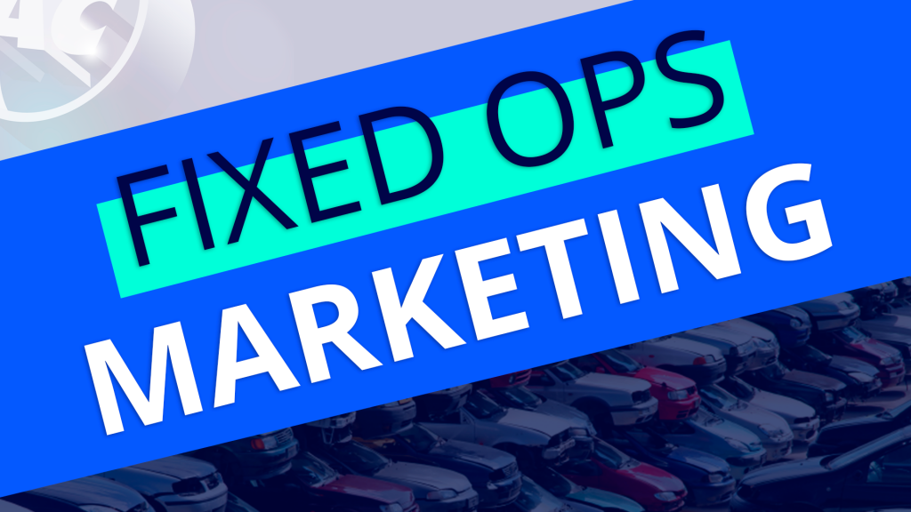 Fixed Ops Marketing - Vehicle Recall Business