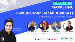 Fixed Ops Marketing - Own Your Recall Business