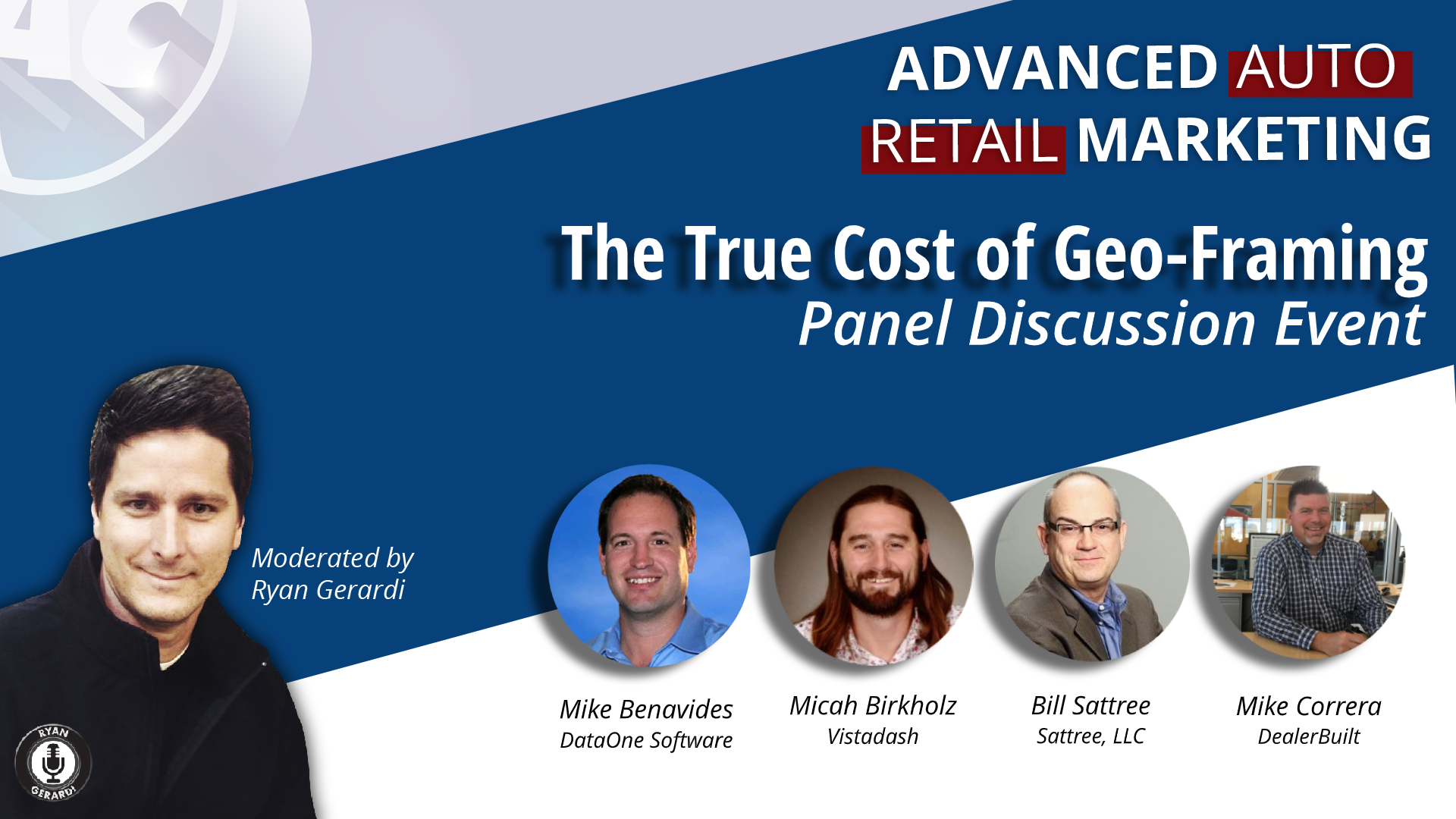 TUE DEC 10. Live Web Chat – Autovate Recap and the True Cost of Geo-Framing