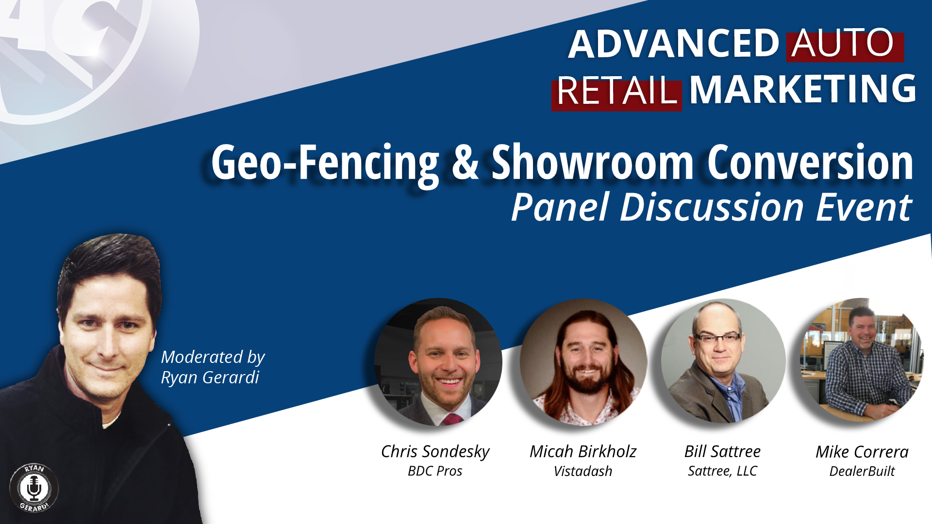 TUE DEC 10. The True Cost of Geo-Framing; and…What's Missing in the Customer Experience from Conversion to Showroom – Live Web Chat
