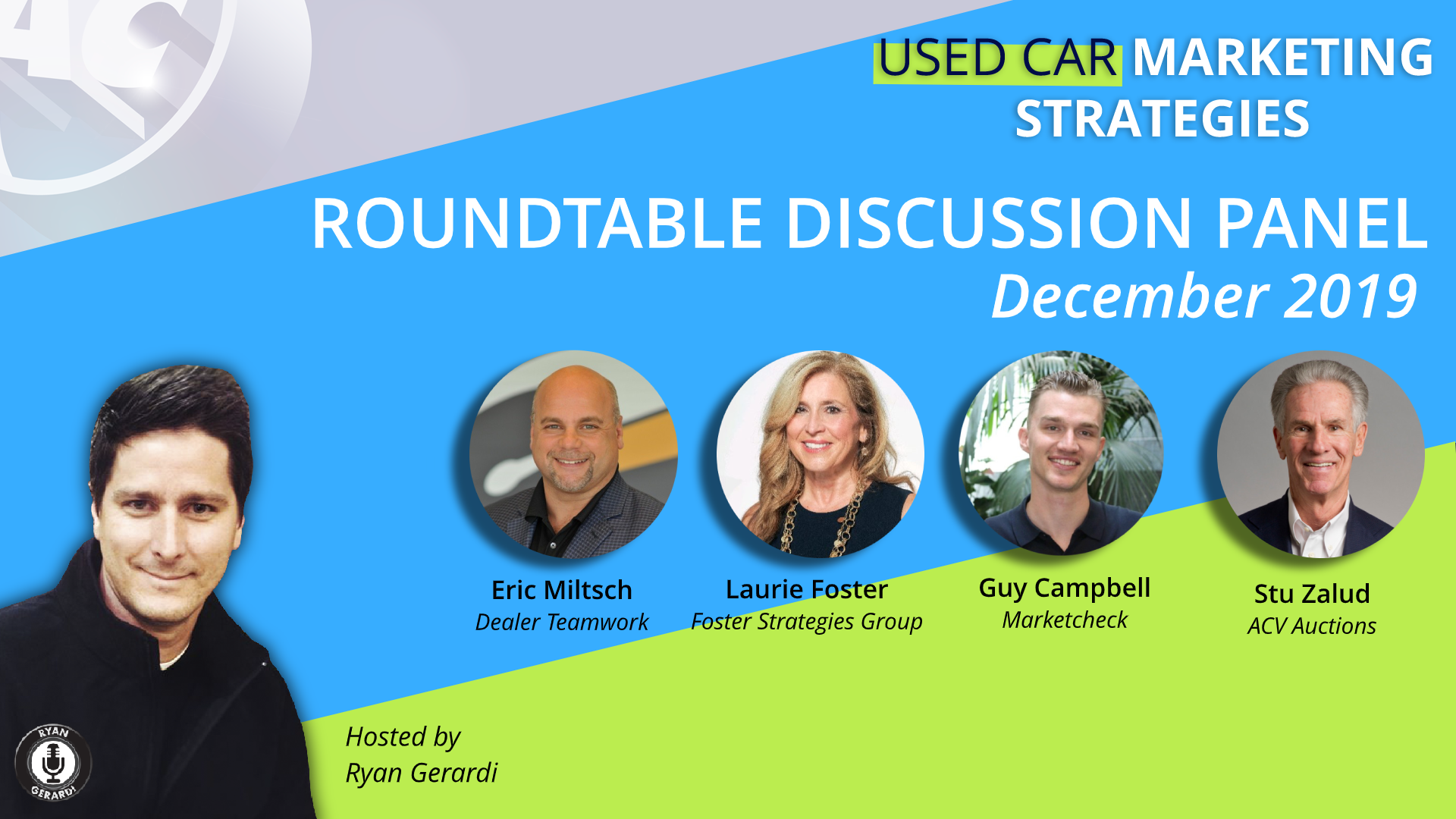 THU DEC 12. Used Car Marketing Roundup – Live Web Chat – Rising Inventories, Auction Trends, Top Model Trends, and more…