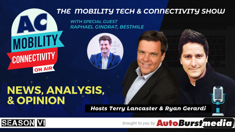 Bestmile CEO Raphael Gindrat on the Mobility Tech & Connectivity Show