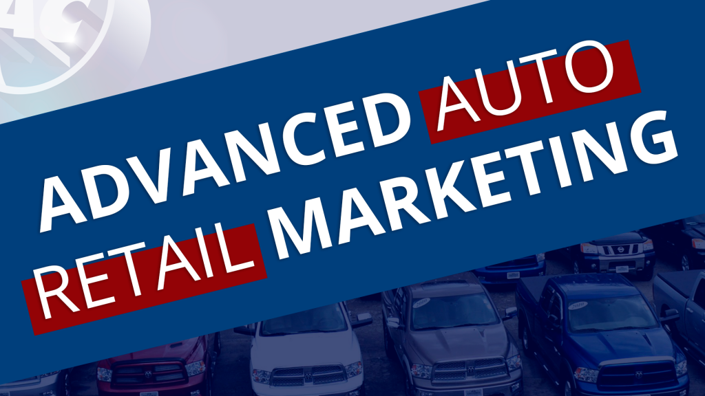 Advanced Auto Retail Marketing Panel