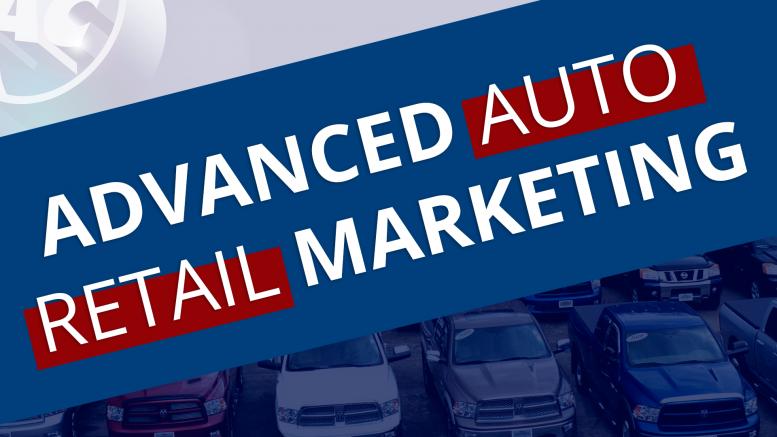 Advanced Auto Retail Marketing Panel
