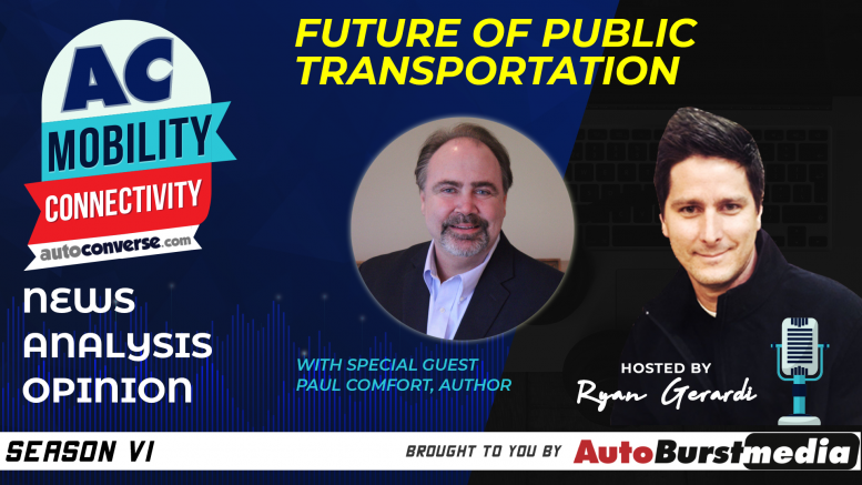 Future of Public Transportation Author Paul Comfort