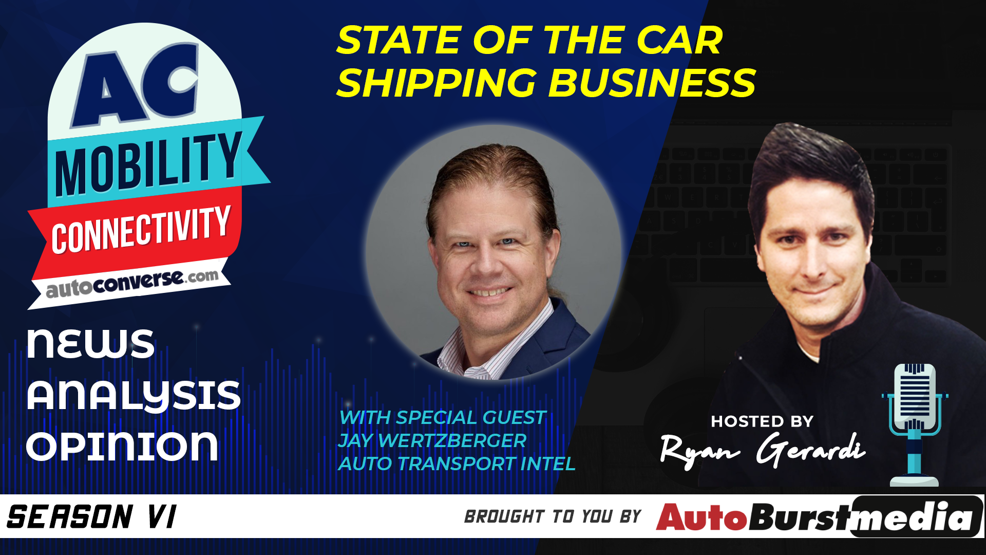 WED APR 01. Car Shipping and the State of Auto Retail. Conversation with Jay Wertzberger, Auto Transport Intel