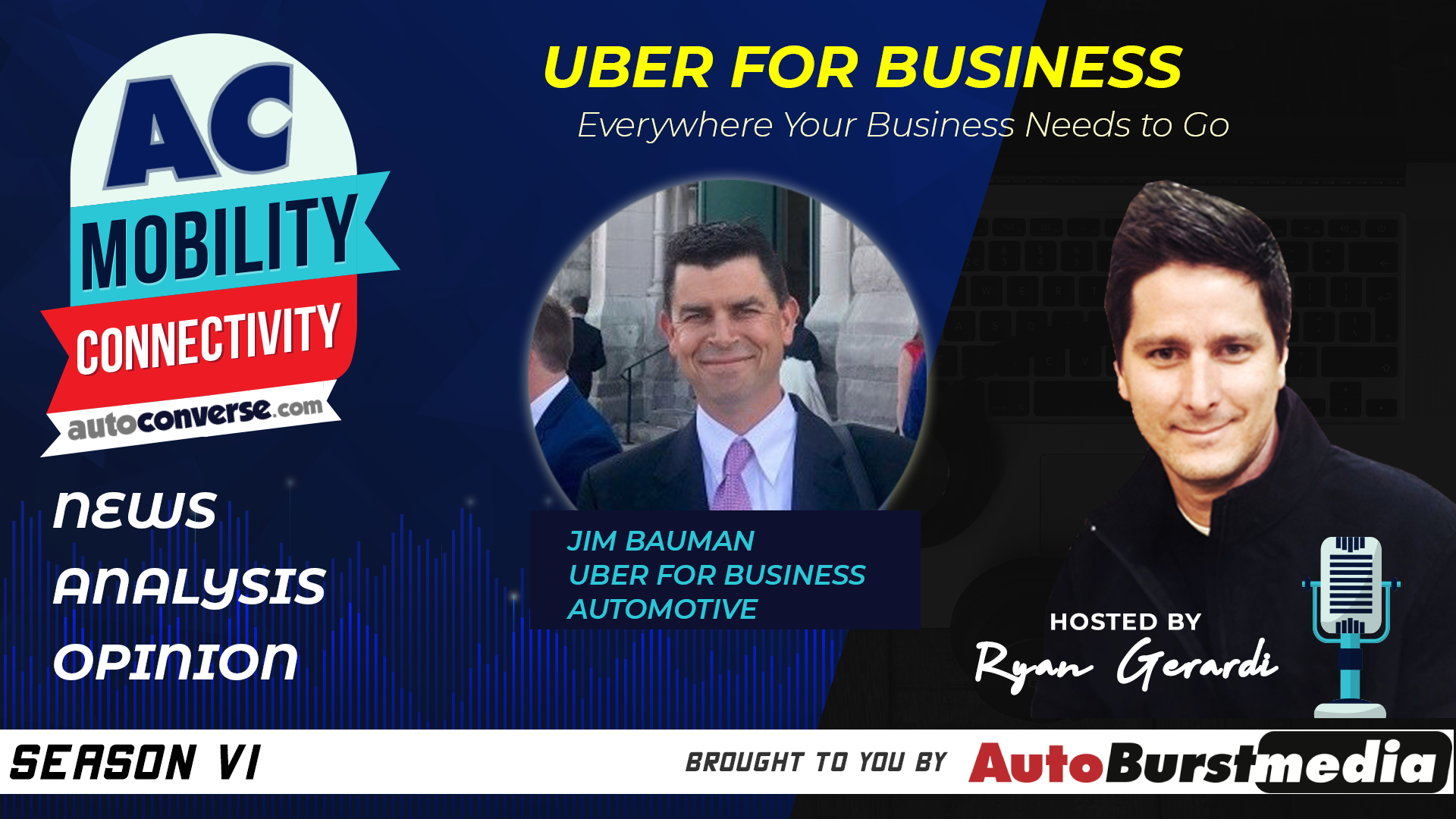 WED APR 8. How Shared Mobility is Transforming Auto Retail. Conversation with Jim Bauman from Uber for Business