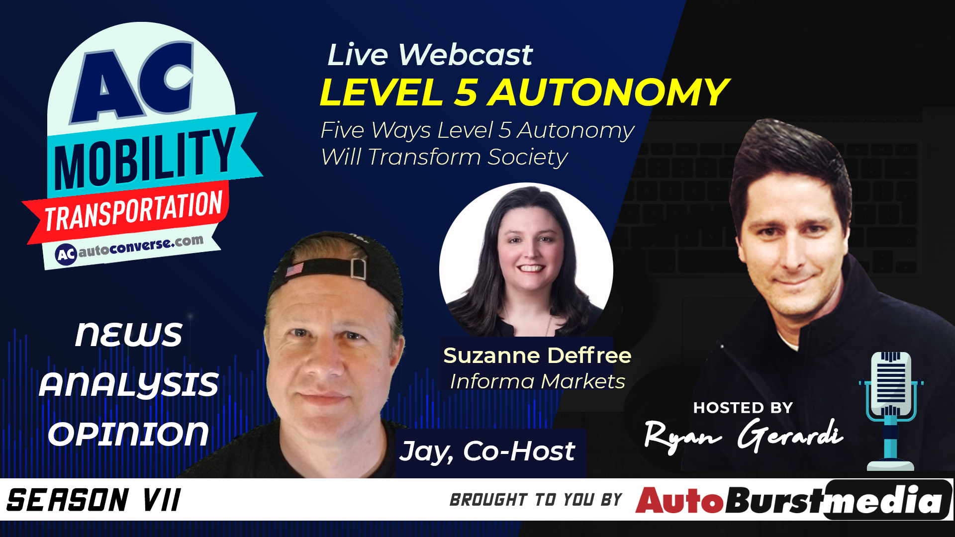 WED MAY 6. Five Ways Level 5 Autonomy Will Transform Society. Live Interview & Mastermind