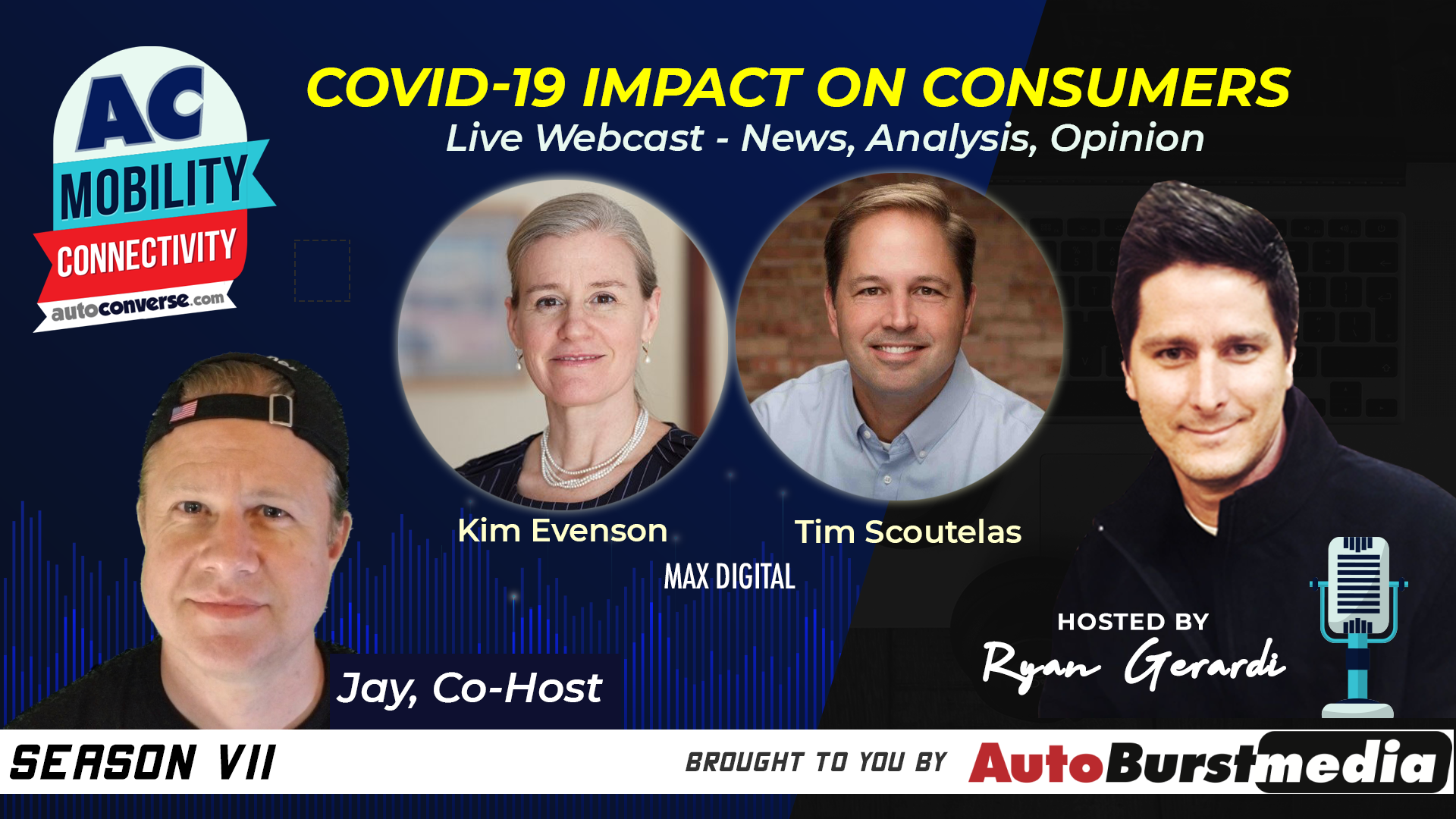LIVE WED JUN 24. COVID-19 Impact on Consumers – Insights from MAX Digital