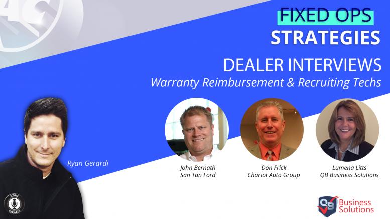 Warranty Reimbursement and Recruiting Service Technicians