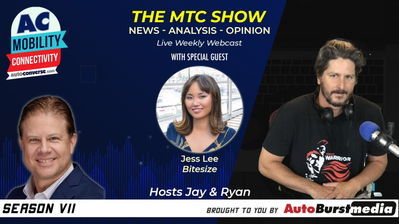 Bitesize CEO Jess Lee on the Mobility Tech & Connectivity Show