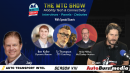 Mike Phillips, Ty Thompson, and Ben Koller on the Mobility Tech & Connectivity Show